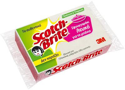 Λευκό Σφουγγάρι Scotch-Brite™